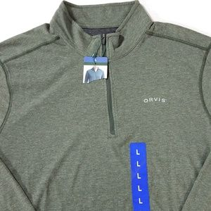 Orvis Classic Collection 1/4 Zip Long Sleeve Shirt